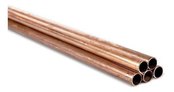 Tubo De Cobre L 1/2 Puldaga (13mm) 3 Metros Nacobre
