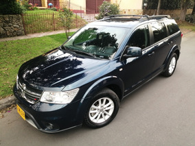 Dodge Journey Sxt At 2400cc 4x2 Full 7 Pts