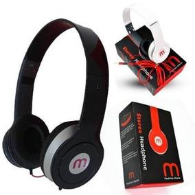 2 Headphone Mex, Fone Para Celular, Radio, Mp3 E Computador
