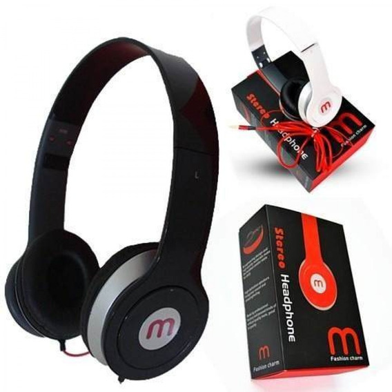 2 Headphone Mex, Fone Para Celular, Radio, Mp3 E Computador