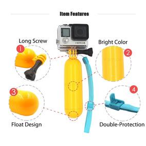 Bastão Flutuante Agua Amarelo Gopro Sjcam Similaresn