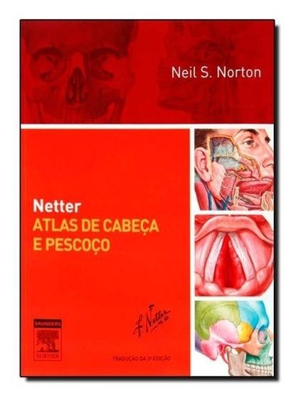 Netter Atlas De Cabeça E Pescoço