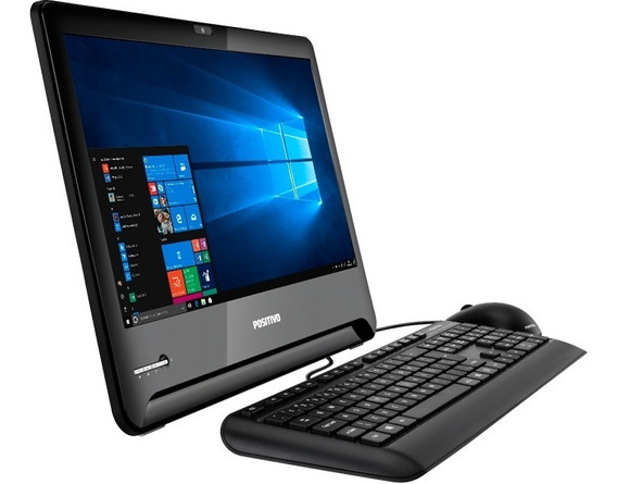 All In One Positivo I5 7ger 4gb 500gb Gravador - Vitrine
