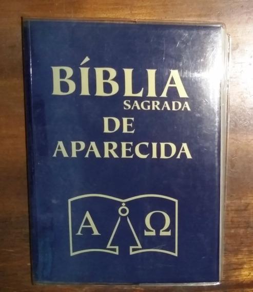 Bíblia De Aparecida - Capa Cristal - Média - Santuário