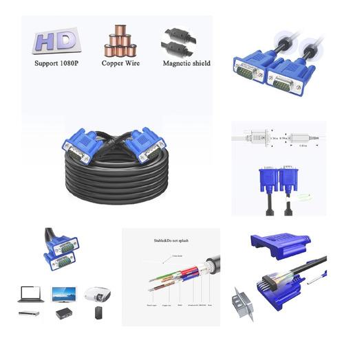 Cable Vga Full Hd Con Filtro