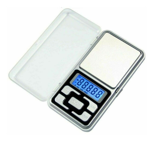 Imagen 1 de 8 de Mini Balanza Digital 0.1 A 500gr Precision Joyero Visor Led