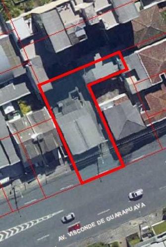 Terreno À Venda Com 851m² Por R$ 2.469.000,00 No Bairro Centro - Curitiba / Pr - Te0149