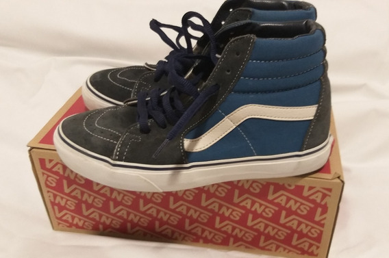 Zapatillas Botitas Vans Sk8 Hi Muy Buen Estado