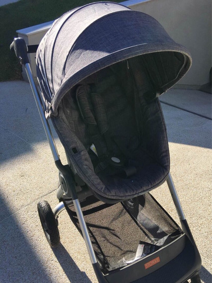 Carrinho Bebê Stokke Scoot V2 Denim (cinza)