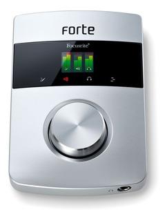 Focusrite Forte Placa Interface Sonido Profesional Usb 2.0