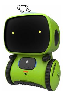 Robot Para Niños Con Sensor Táctil Controlado Por Voz Int...