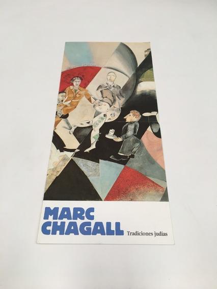 Folleto Marc Chagall, Tradiciones Judías / Fundación Juan