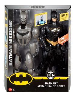 Batman Missions Armadura De Poder/ De Mattel.con Luz/sonido