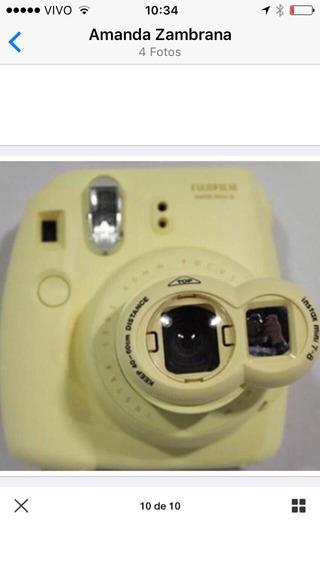 Lente De Selfie Instax Amarela