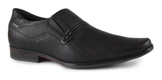 Sapato Masculino Pegada 122243-01 Couro Trexin Preto