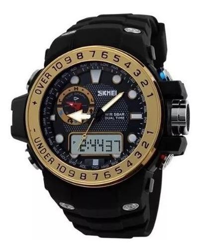 Relógio Masculino Skmei Militar Original Esportivo + Brinde