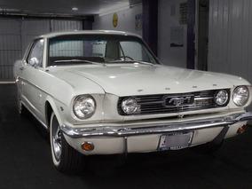 Ford Mustang 1966 Placas De Clásico