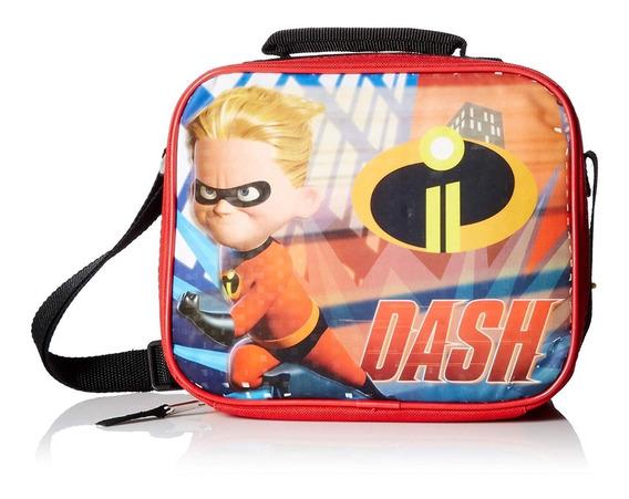 Incredibles 2 Dash Rectángulo Bolsa De Almuerzo Con Corre