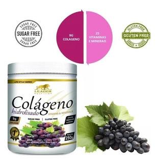 Colágeno Hidrolisado Com Vitaminas E Minerais 250g - Leader