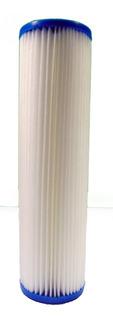 Filtro Sedimentos De Poliester Plisado 5 Micras 2.5x10
