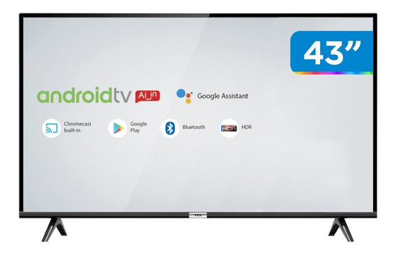 Tv 43 Led Tcl 43s6500fs Smart/ Android Tv /full Hd 35733