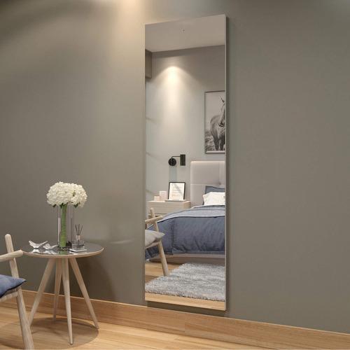 Quadro De Espelho 180cm Flora Mavaular Branco Gbwt