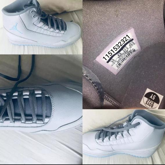 Zapatillas Nike Jordan Mujer Talle 37,5 Sin Uso