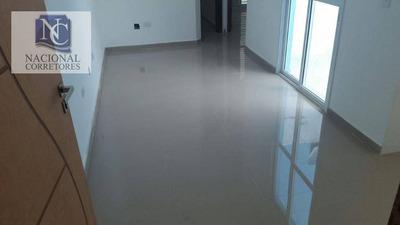 Cobertura Com 2 Dormitórios À Venda, 42 M² Por R$ 250.000 - Jardim Utinga - Santo André/sp - Co3871