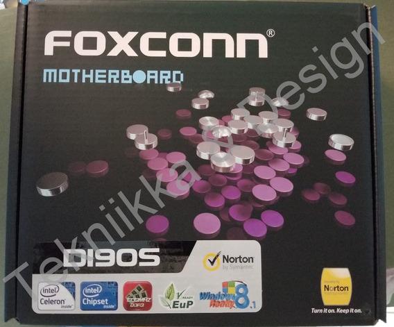 Tarjeta Madre Foxconn D190s + Intel Celeron Quad Core Ddr3