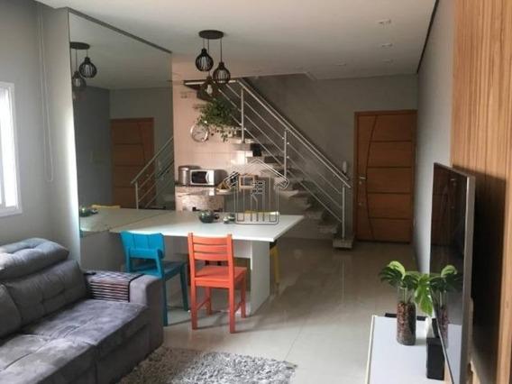 Apartamento Em Condomínio Cobertura Para Venda No Bairro Jardim Bela Vista, 2 Dorm, 2 Vagas, 128,00 M - 11376ig