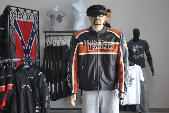 Jaqueta Original Harley-davidson Couro Legítimo Bovino