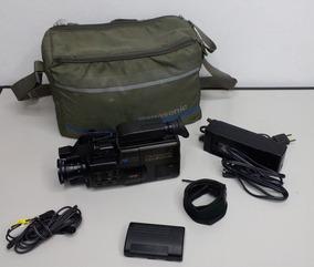 Kit Filmadora Panasonic Ominimovie Vhs