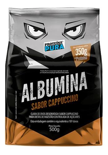 Imagem 1 de 2 de  Albumina - Sabor Cappuccino - 500g - Proteina Pura