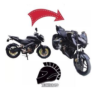 Pechera O Cubre Motor Ns200 Pulsar Bajaj Sin Pintar