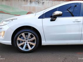 Peugeot 408 1.6 Griffe Thp Turbo 2015 Branco Automático Teto