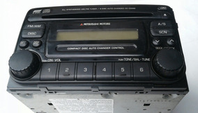 Rádio Original Pajero Sport 2004 Mitsubishi 6 Cds