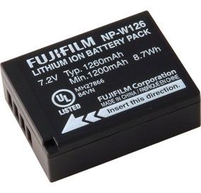 Kit 2 Bateria Fuji Np-w126 Hs50 Hs35 X-t20 X-pro 2 X100f