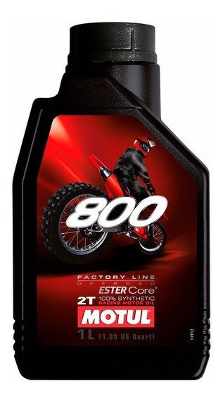 Óleo 800 2t Motul( 6 Litros)-100% Sintético
