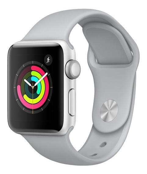 Apple Watch Series 3 Gps - 42mm - Caixa Prateada De Alumínio