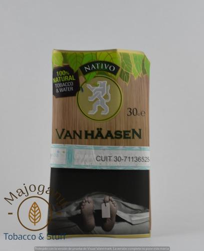 Tabaco Van Haasen X 30 Gr. Para Armar Van Hassen Tabaco.