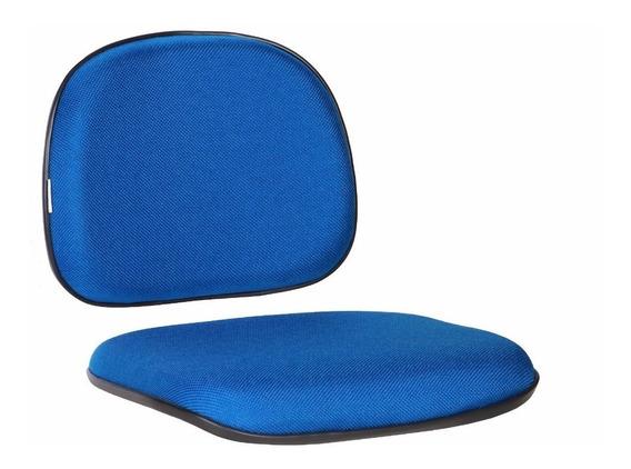 Kit Assento E Encosto Para Cadeira Secretária Diversas Cores
