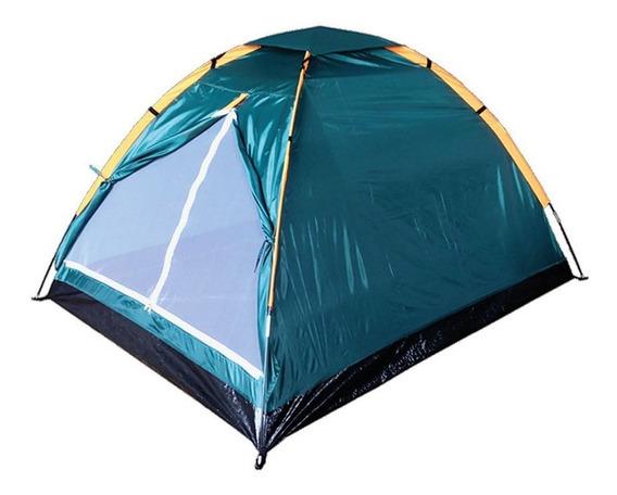Barraca Para Camping 2 Pessoas Utiliza 200x120x100cm Dt200