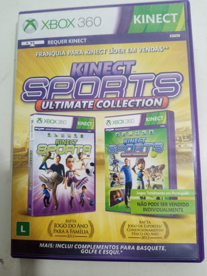 Kinect Sports Ultimate Collection Xbox 360 Mídia Física