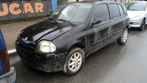 Renault Clio Rl 1.0 00 (sucata Somente Para Venda De Peças)