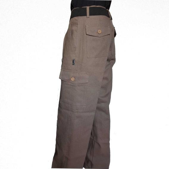 Pantalon Cargo Reforzado Grafa Linco Superior Envio T.50-58