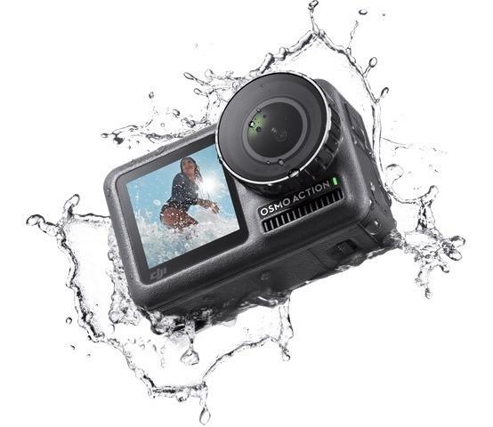 Câmera Dji Osmo Action Camera Prova D