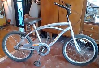 Bicicleta Hendel Playera Niño Rodado 20 - Seminueva!
