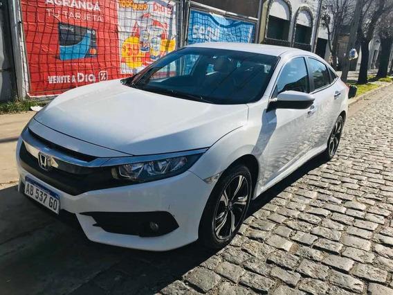 Honda Civic Ex-l Año 2014 Con 42 Mil Km Titular Impec Estado