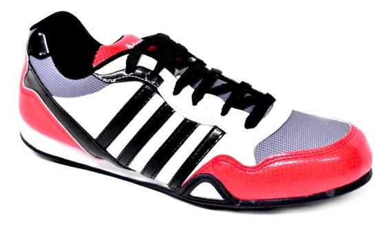 Zapatillas Atenas Deportivas Rojas, Gris Y Negras N° 39 - 44