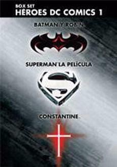 Heroes Dc Comics 1 - Batman - Superman - Constan Dvd - O